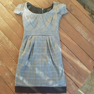 Max and Cleo Pleated Dress Size 4